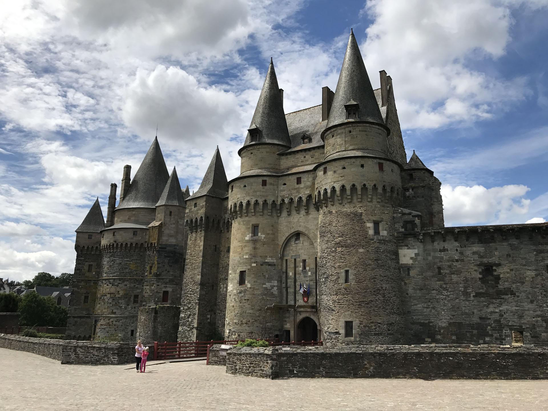 ヴィトレ城(Château de Vitré)