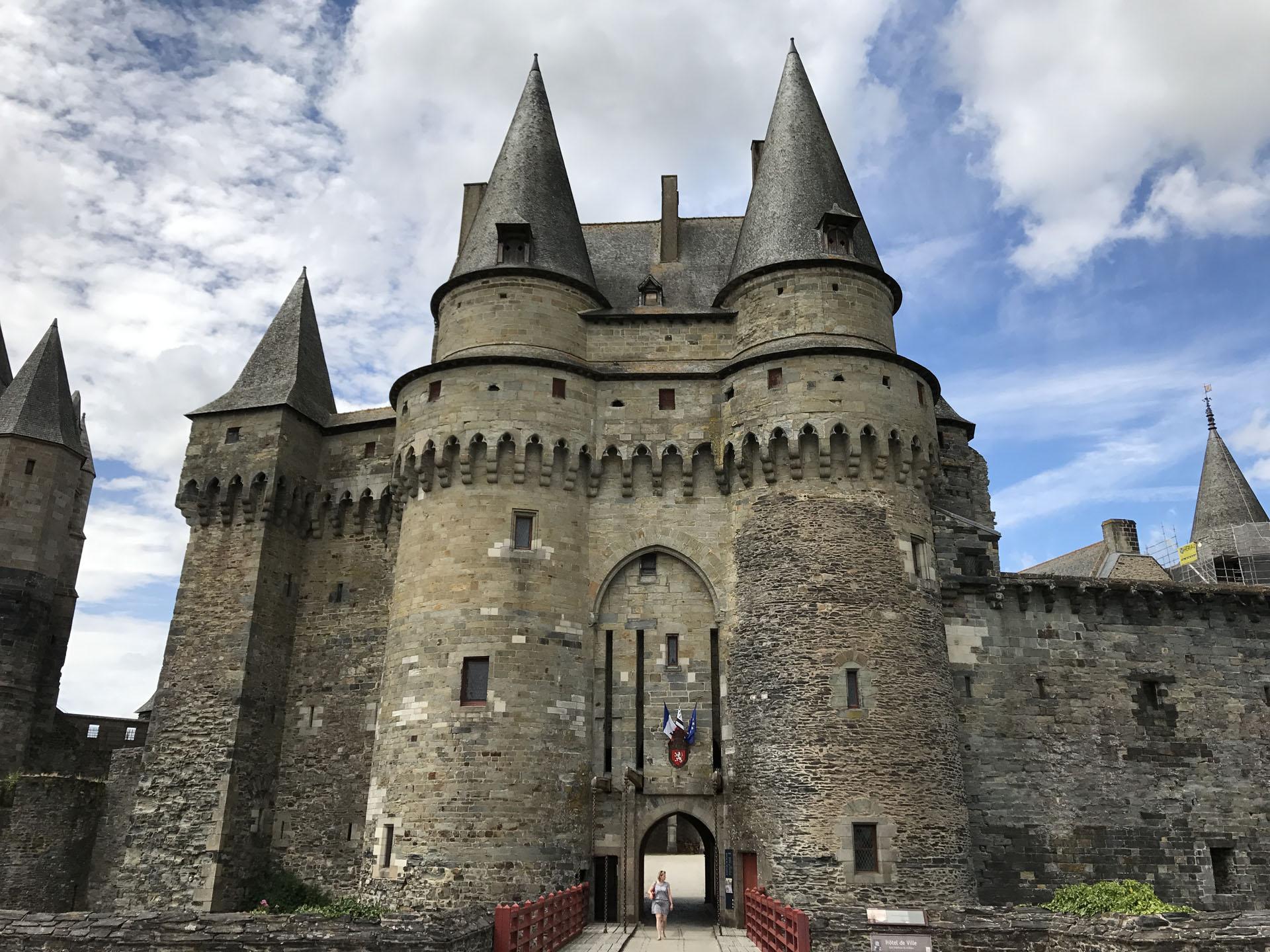 ヴィトレ城の正門