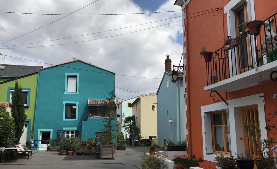 トラントムー(Trentemoult)の街並み
