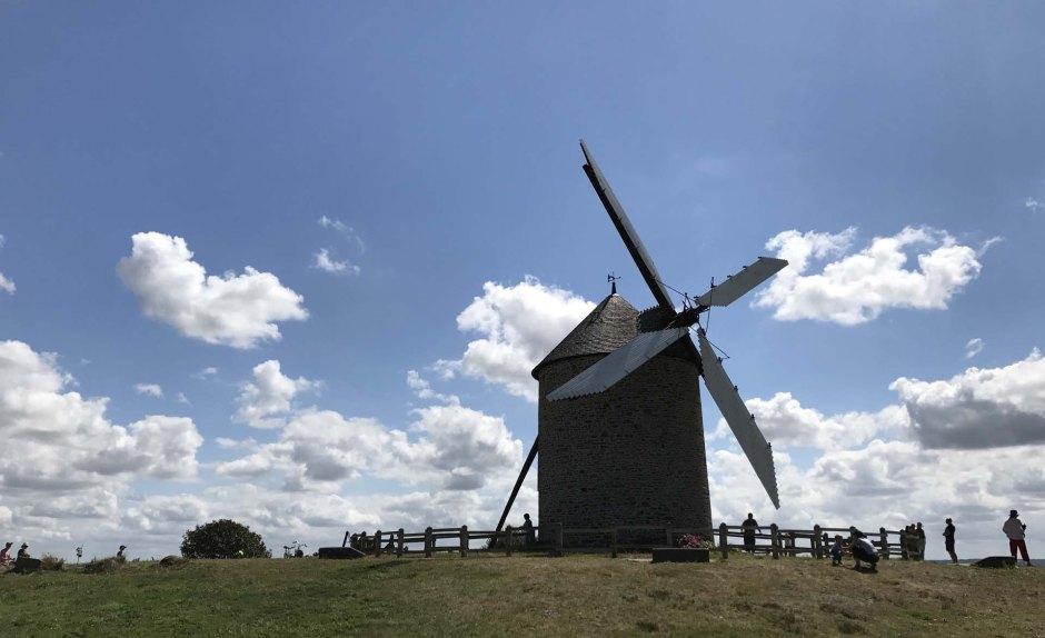 モワドレーの風車(Moulin de Moidrey)