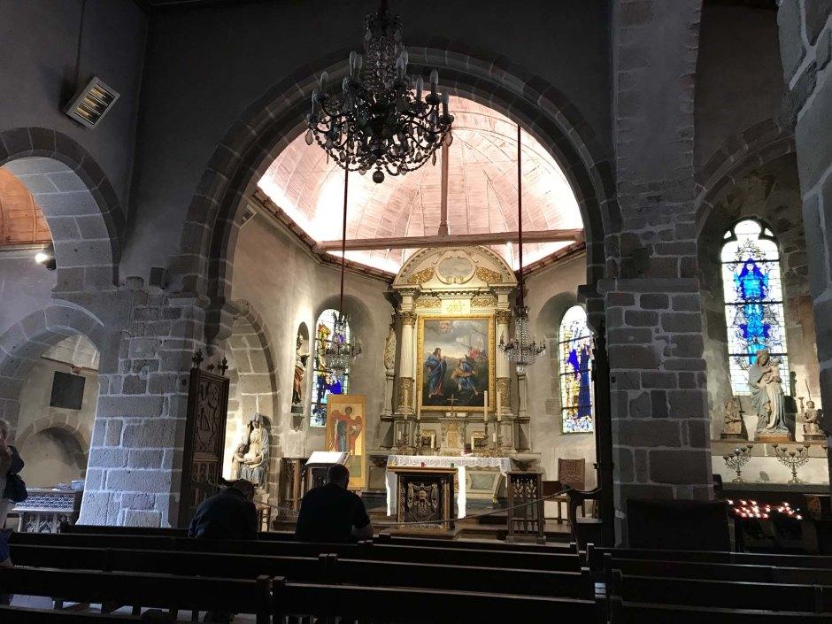 モン・サン・ミッシェルのサン・ピエール教会