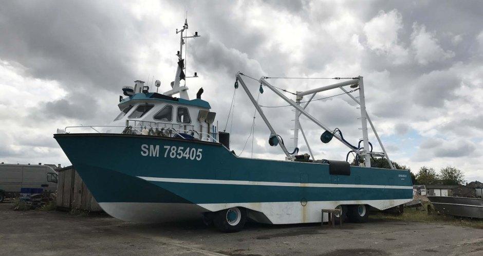 ル・ヴィヴィエ=シュル=メールの水陸両用の船