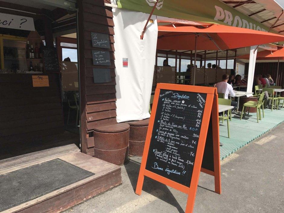 ル・ヴィヴィエ=シュル=メールのレストラン