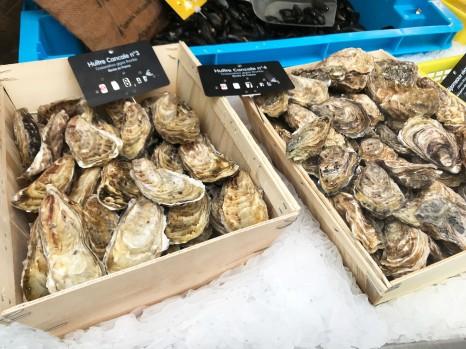 カンカル産の牡蠣