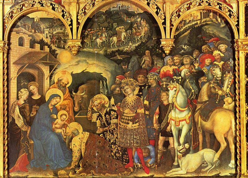 ジェンティーレ・ダ・ファブリアーノ『東方三賢王の礼拝』