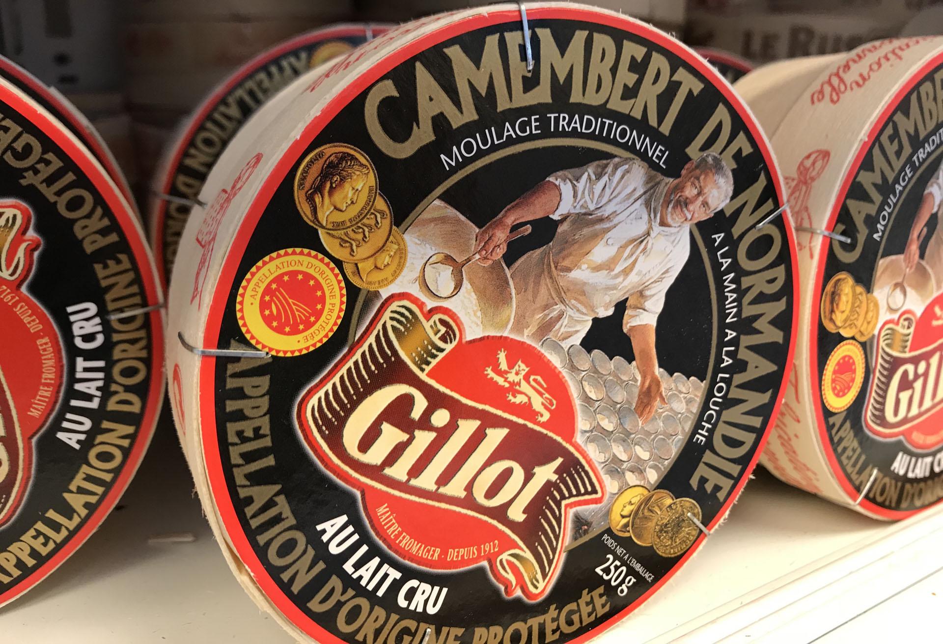 カマンベールチーズ Gillot