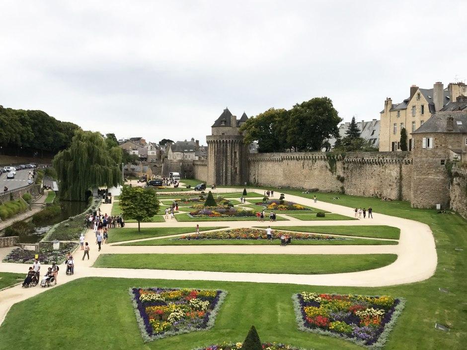 ヴァンヌの城壁