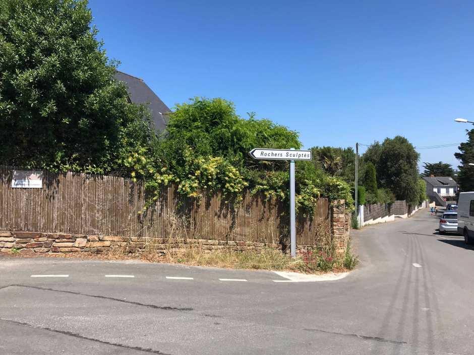 サン・マロのレ・ロシェ・スキュルテの行き方