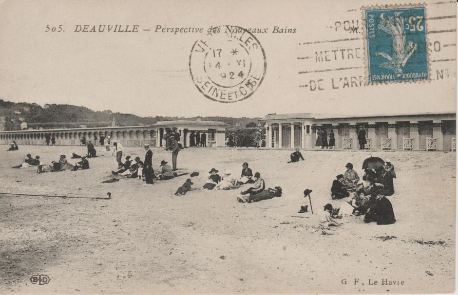 1924年のドーヴィル