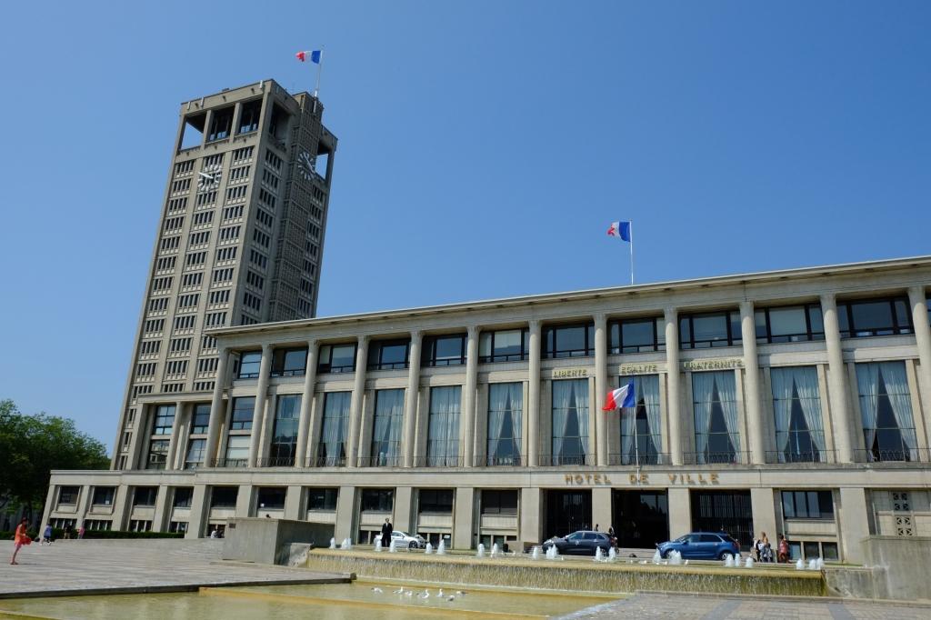 ル・アーヴル市役所庁舎の建物